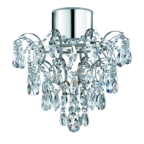 Led Bathroom Ip44 Chandelier K5 Crystals 7901-1Cc
